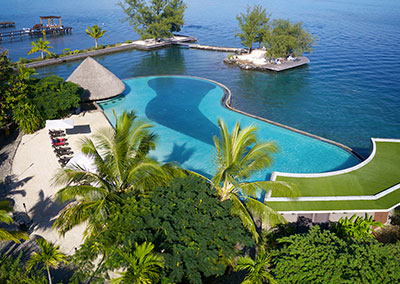 © Hôtel Manava Tahiti Suite Resort