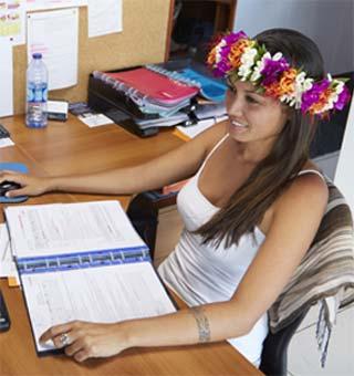 mateata hutchinson agent de voyage e-Tahiti Travel