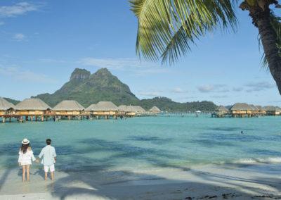 Romance à Bora Bora - © Tahiti Tourisme