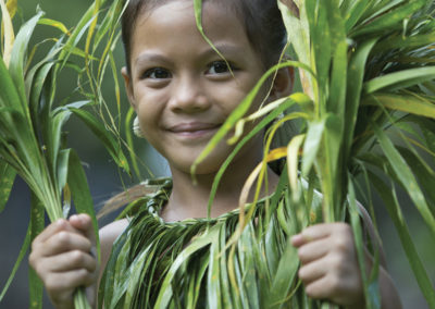 Enfant de Hiva Oa - îles des Marquises © Tahiti Tourisme