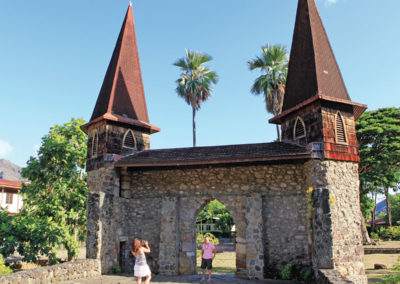 Eglise de Nuku Hiva © Tahiti Tourisme