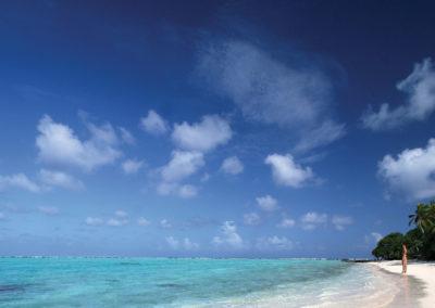 Plage de Rangiroa © Tahiti Tourisme