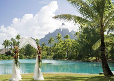Mariage à Bora Bora © Hôtel St-Régis