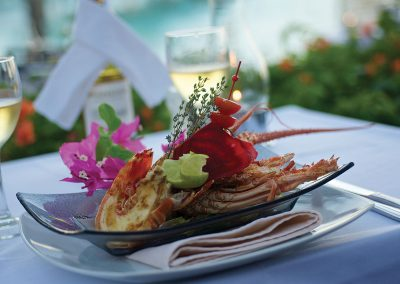 Langouste - © Intercontinental Bora Bora