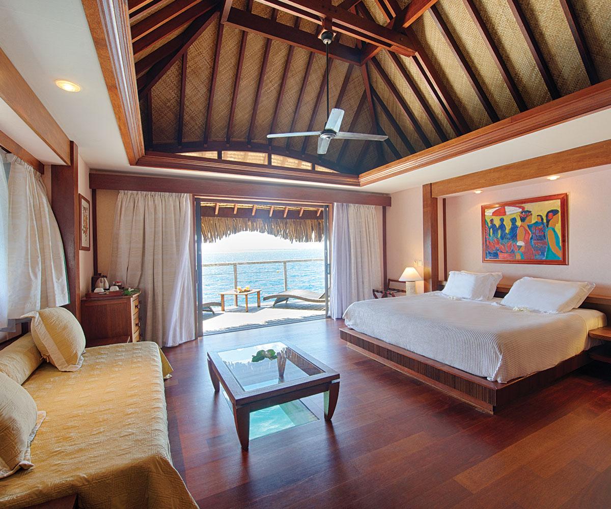 Tahiti Accommodation Over Water Bungalows: Manava Beach Resort And Spa Moorea