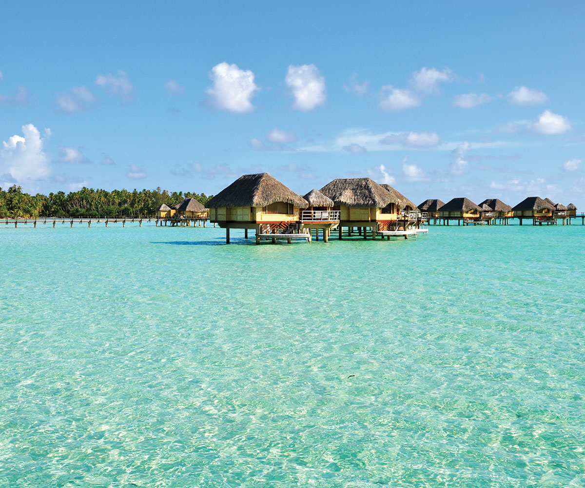 Tahiti Accommodation Over Water Bungalows: An Exquisite Relais & Chateaux In Tahaa