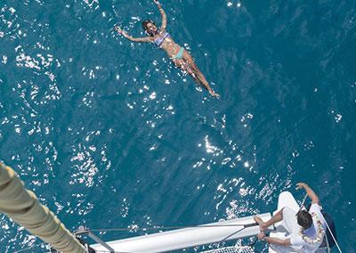 Croisière en catamaran aux Iles Sous le Vent