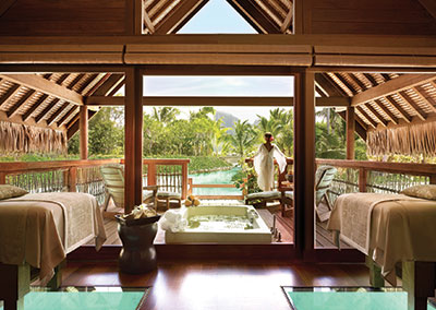 Four Seasons Bora Bora Retreat