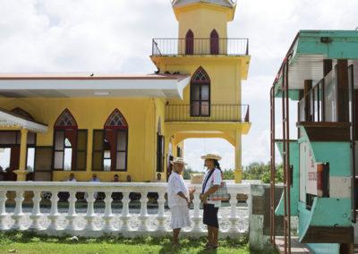 Eglise de Huahine © Tahiti Tourisme