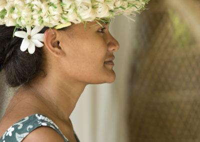 Vahine Huahine © Tahiti Tourisme