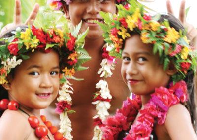 Enfant Polynésien © Greg Le Bacon - Tahiti Tourisme