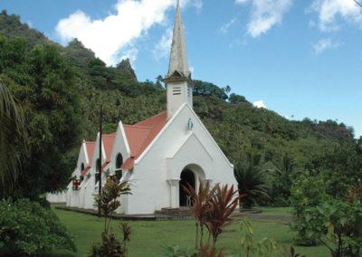 Eglise - Fatu Hiva - Iles des Marquises © Tahiti Tourisme