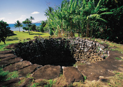 Site archéologique de Mangareva © Tahiti Tourisme