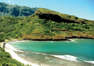 Baie de Ua Huka - Iles des Marquises © Tahiti Tourisme