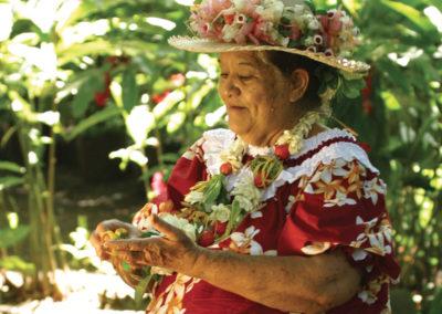 Mama de Tahuata - Iles des Marquises © N.PEREZ - Tahiti Tourisme