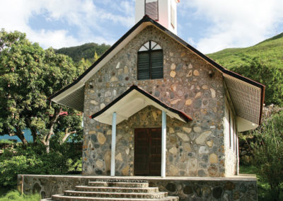 Eglise de Ua Pou - Iles Marquises
