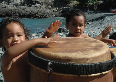 Enfants de Ua Pou - Iles des Marquises