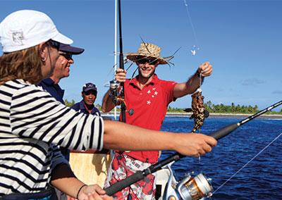 Séjour pêche dans le Pacifique