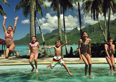 Luxurious Family Stay in Tahiti & Bora Bora