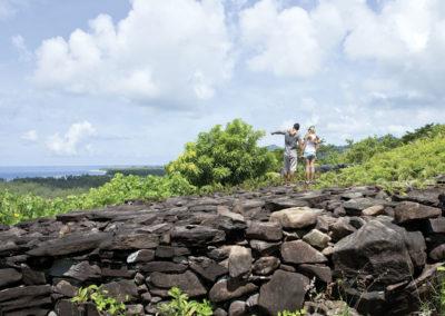Site Archéologique Huahine © Tahiti Tourisme