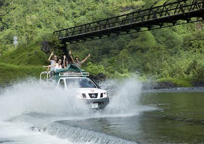 Partir en Safari 4X4 à TAHITI