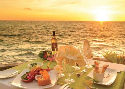 Restaurant Sunset © Hôtel Kia Ora Resort & Spa