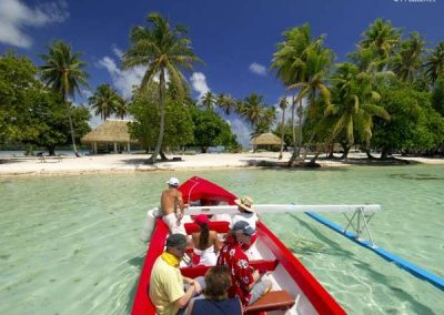 Combo 4WD Safari & Lagoon Tour in Huahine