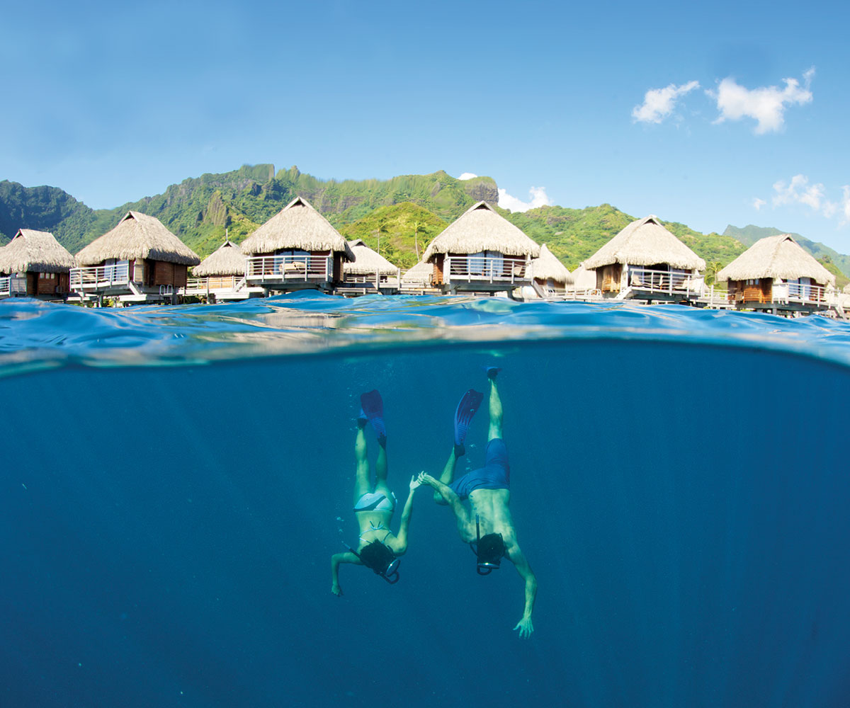 Manava beach resort and spa moorea e tahiti travel for Best spa vacation packages