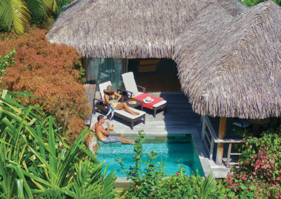 Bungalow© Intercontinental Moorea Resort & Spa