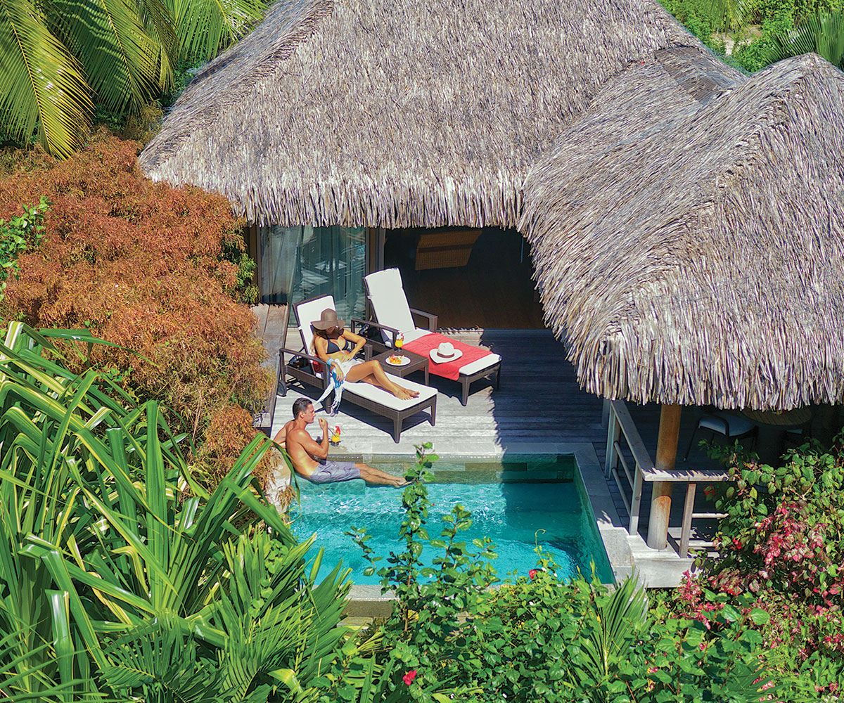 Tahiti Accommodation Over Water Bungalows: InterContinental Moorea Resort & Spa