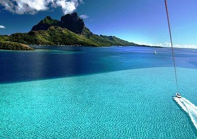 An Exhilarating View of Bora Bora