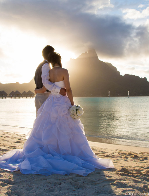 Meridien bora bora wedding ceremony e tahiti travel meridien bora bora wedding ceremony junglespirit Choice Image