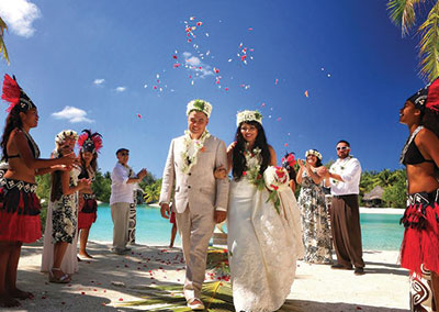 Herero'a Ceremony by Le Meridien Bora Bora