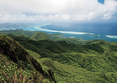 Tour de l'île de Raiatea