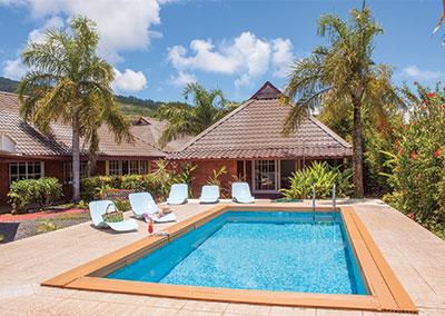 Villa IXORA in Raiatea