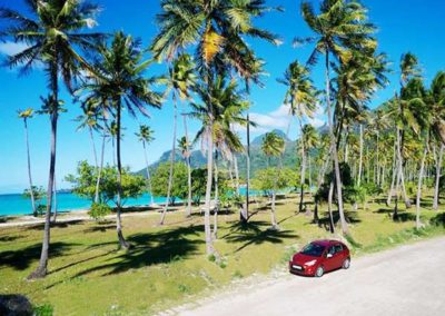Car rental in Huahine island