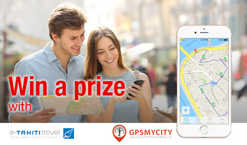 Win a one-year full membership of the GPSmyCity App