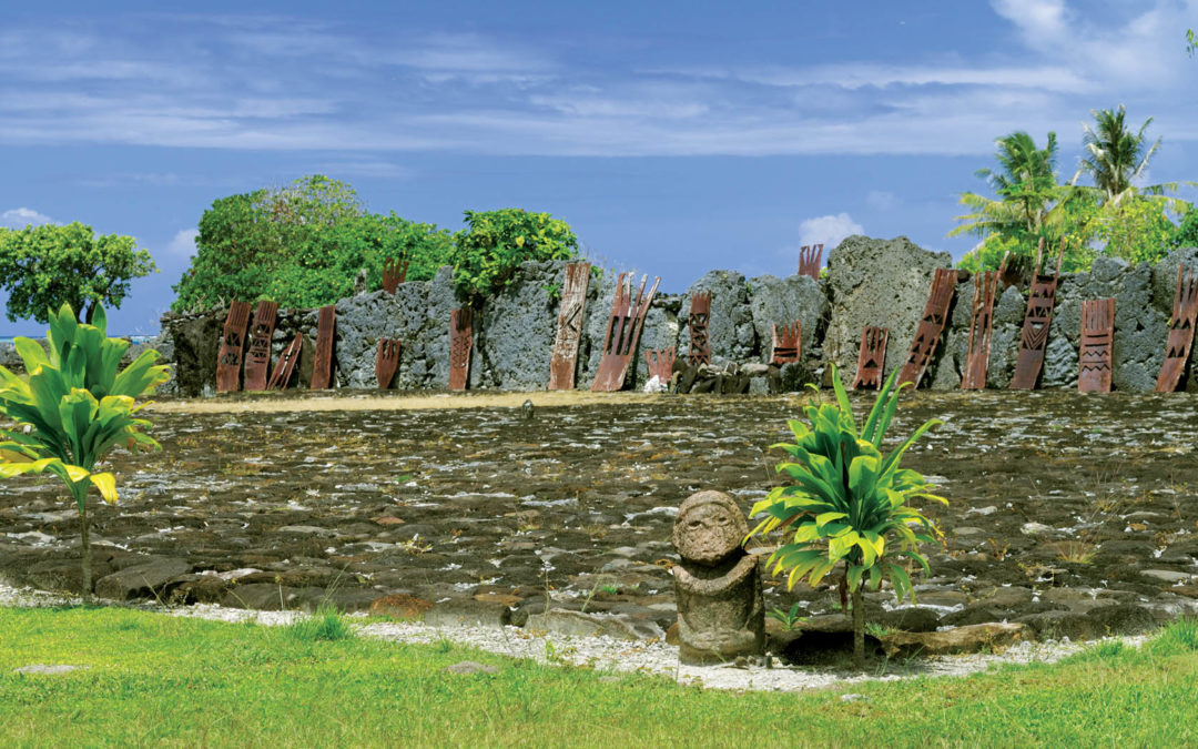 "The enigmatic ""marae"" of Tahiti & her islands"