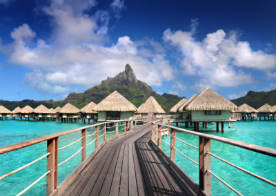 35 to 40% discount at Le Meridien Bora Bora & Tahiti!