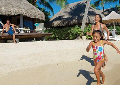 Vacaciones en familia en Tahiti, Moorea & Bora Bora