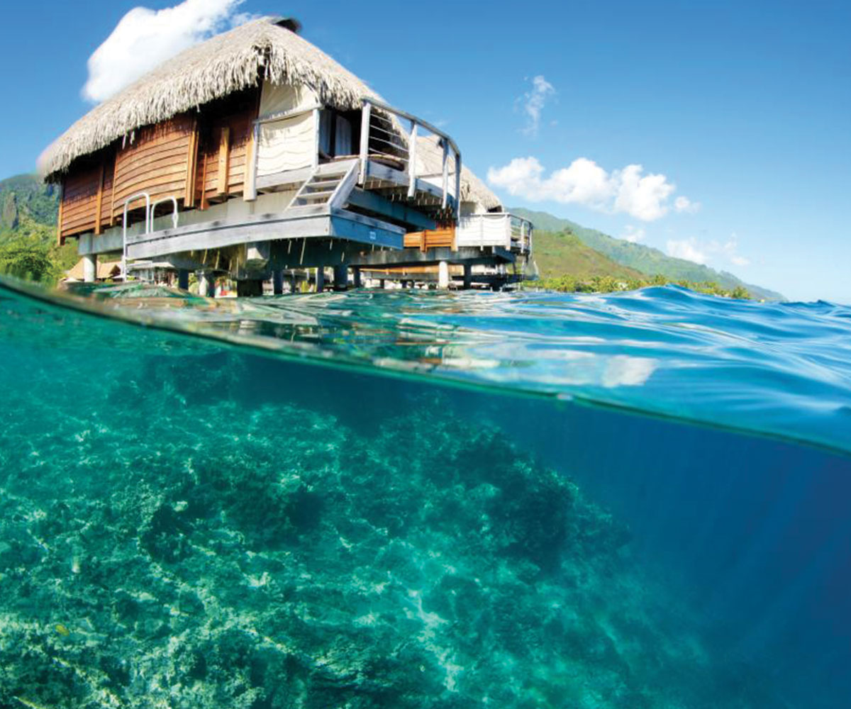 Tahiti Accommodation Over Water Bungalows: Family Fun In The Islands
