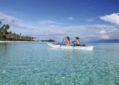 Descubrimiento de Tahiti y sus islas en pequeños hoteles