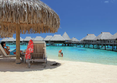 Hilton Family escape to Moorea with resort credit